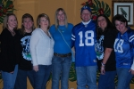 Several classmates from various 80's classes met in Odessa to watch a 2009 NFL playoff game
